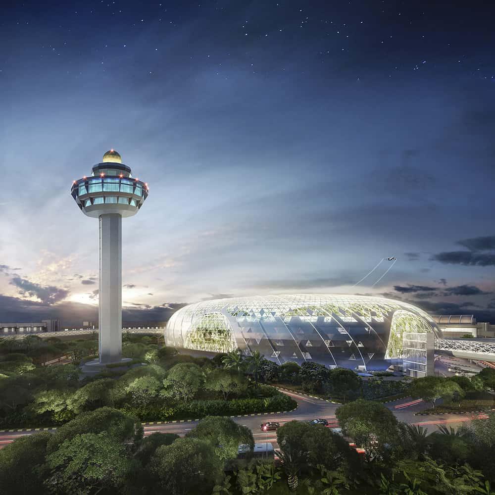 Safdie's Jewel at Changi Airport